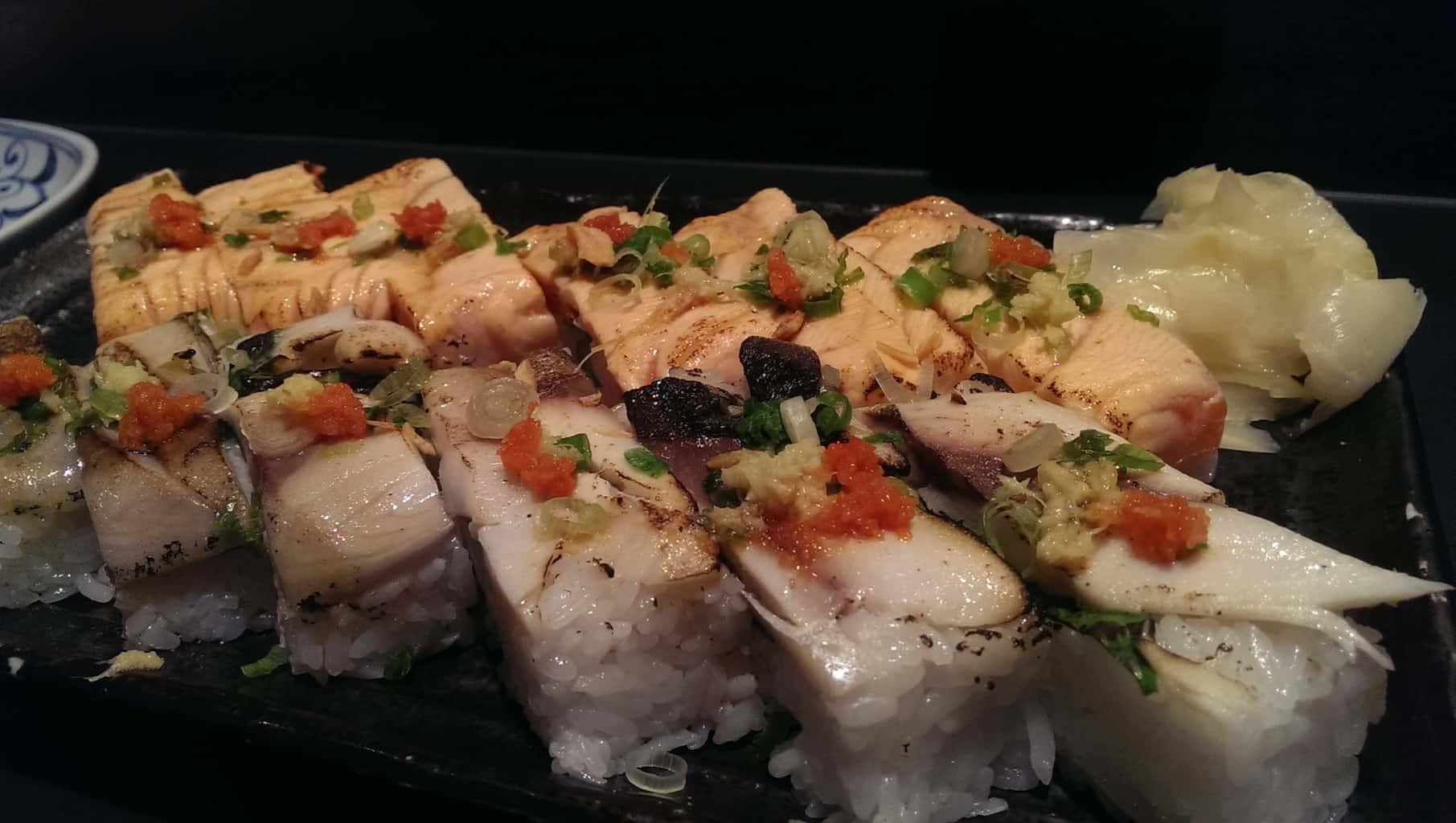 Ajisai sushi bar for two please for Ajisai japanese cuisine