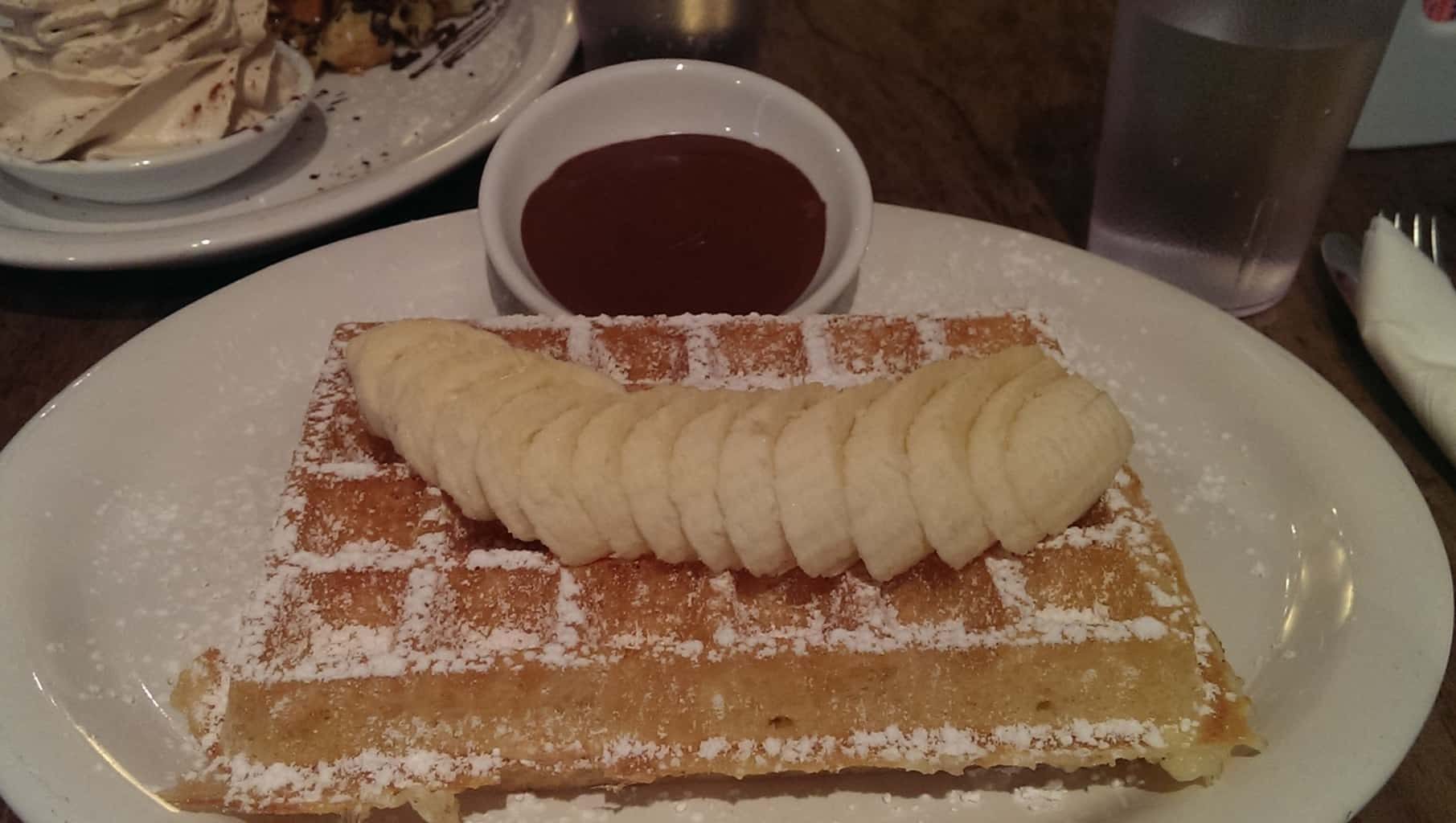 Banella on Brussels Waffle