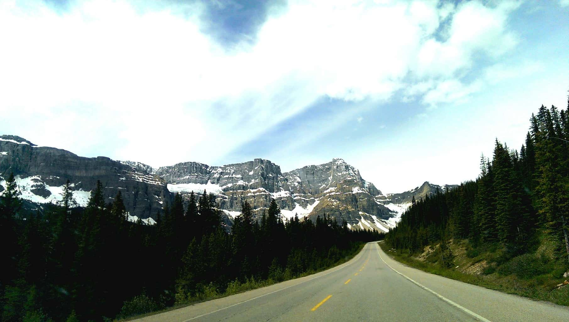 The Icefield Parkway Hwy 93
