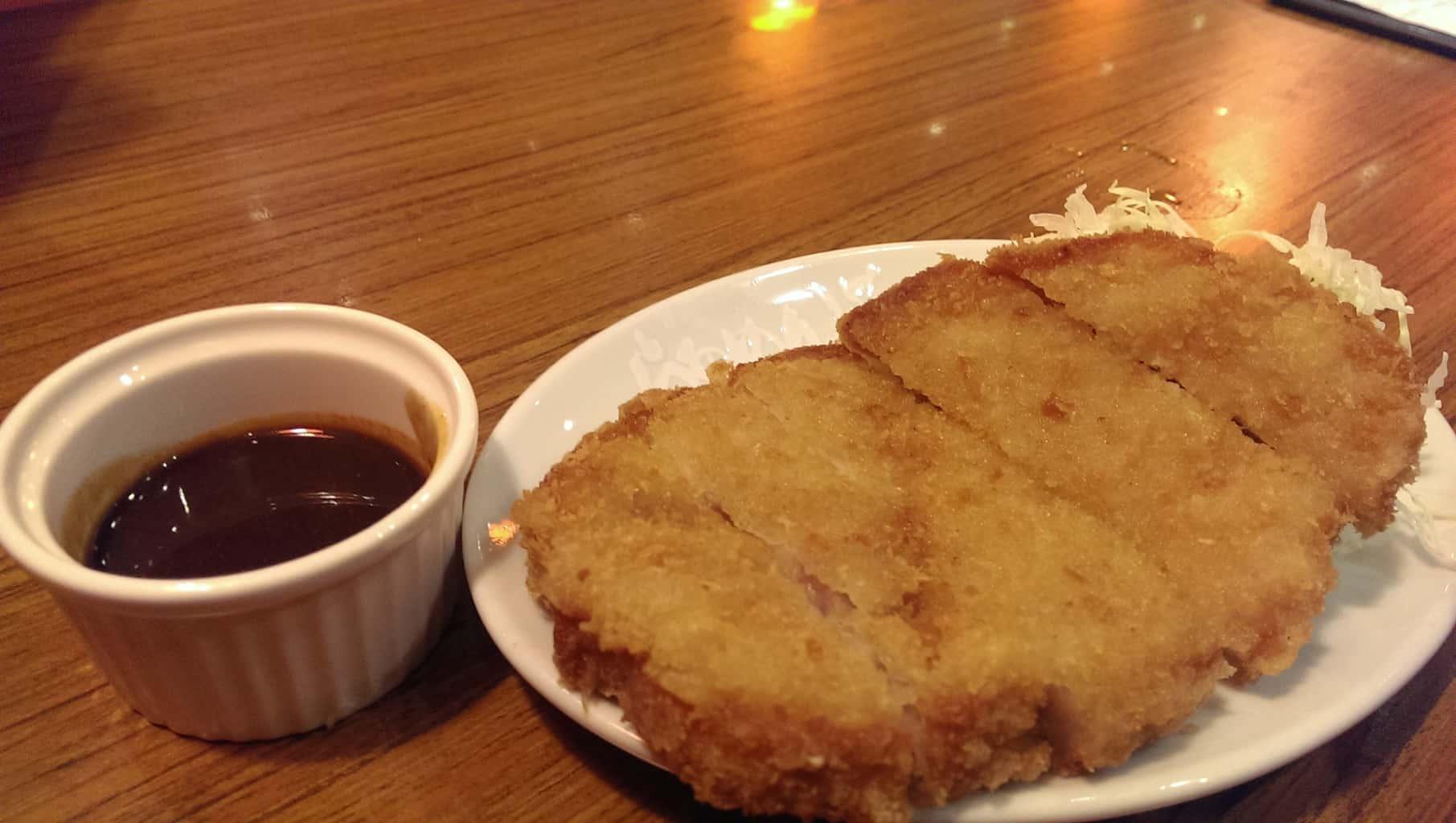Deep-fried pork chop