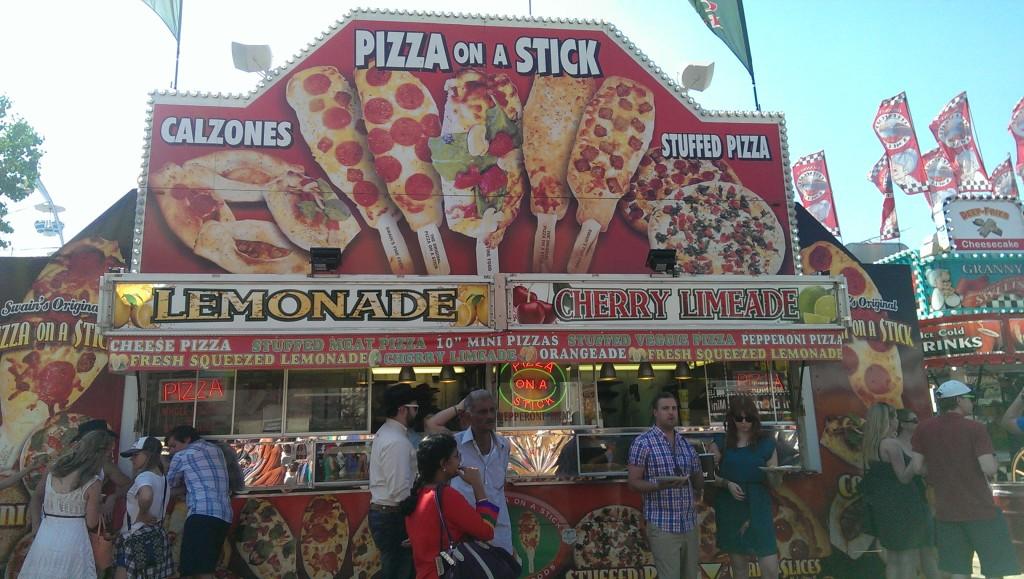 棒子披薩小吃攤