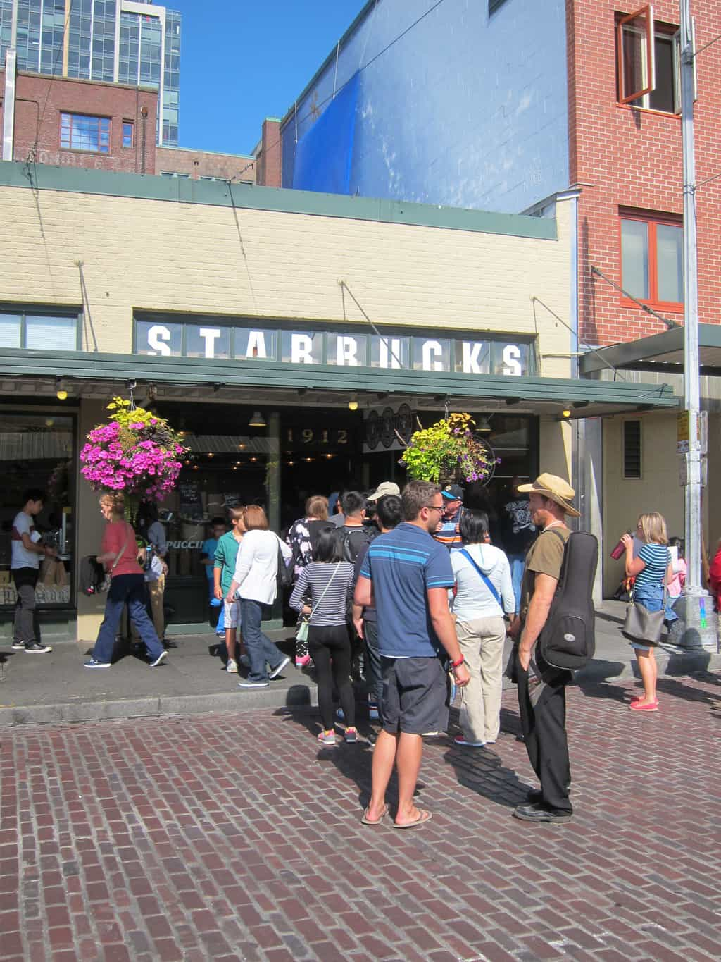 first starbucks pike place