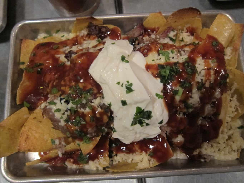 BBQ nachos