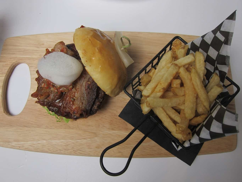 lava burger & fries