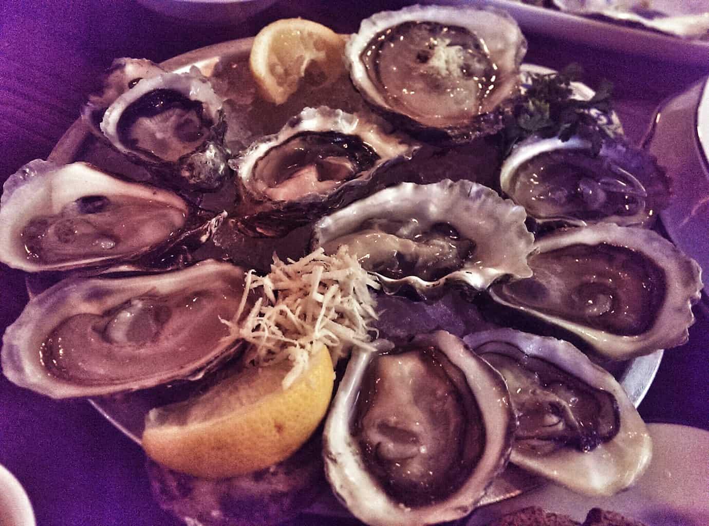oysters rodney's calgary