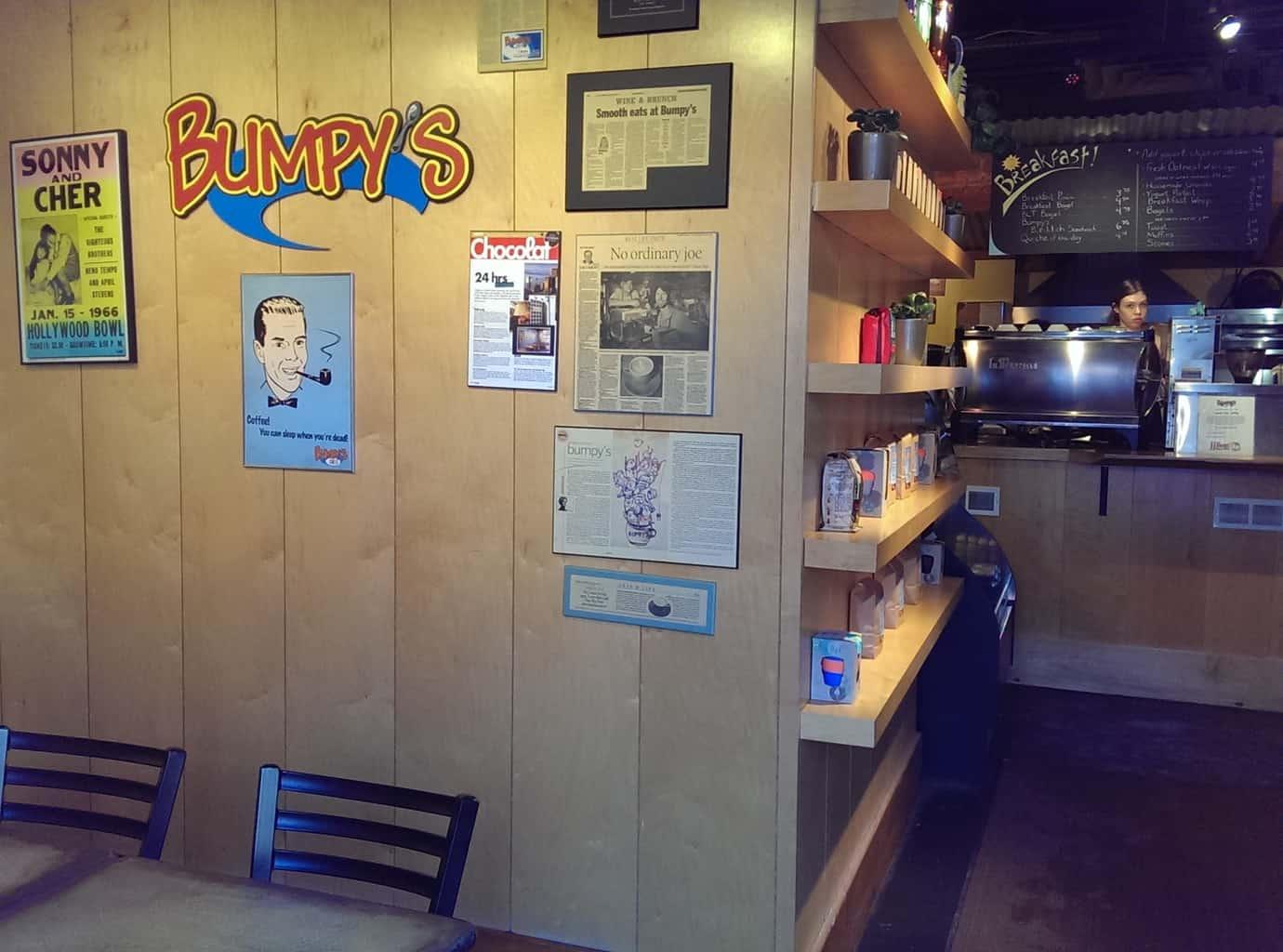 Bumpy's calgary cafe