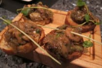 Eggplant bruchetta from Vero Bistro, Calgary