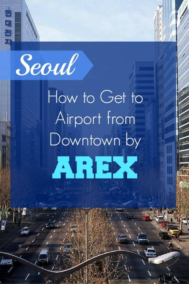 Downtown Seoul to Airport by AREX