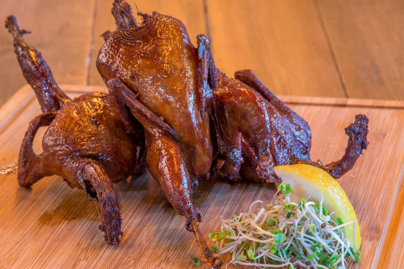 deep-fried quail