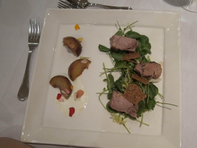 miso braised pork salad