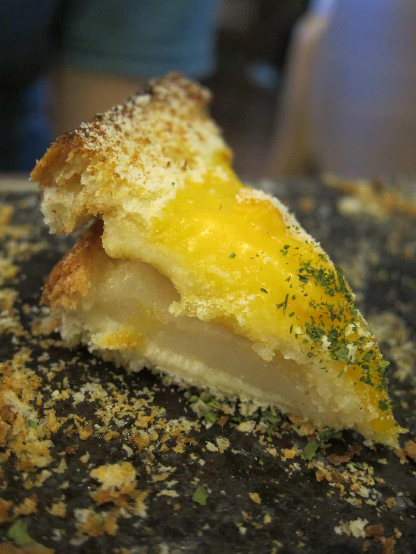 garlic cheese injeolmi toast