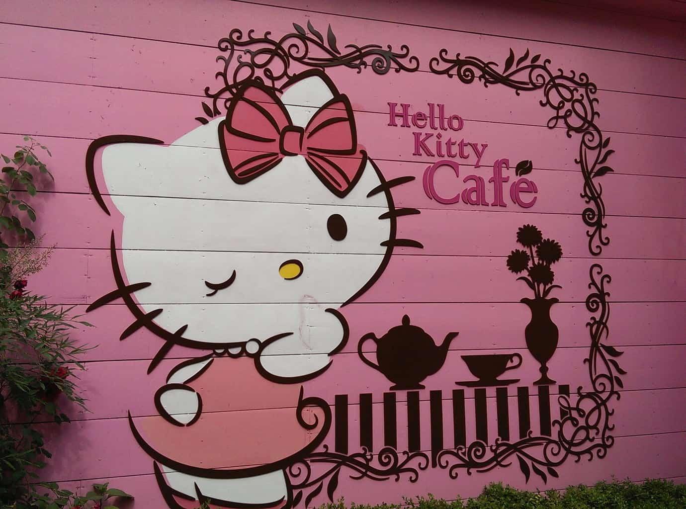 Hello Kitty Cafe Seoul 2