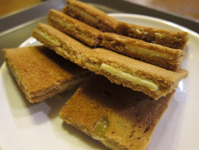 original kaya toast (3300 won)