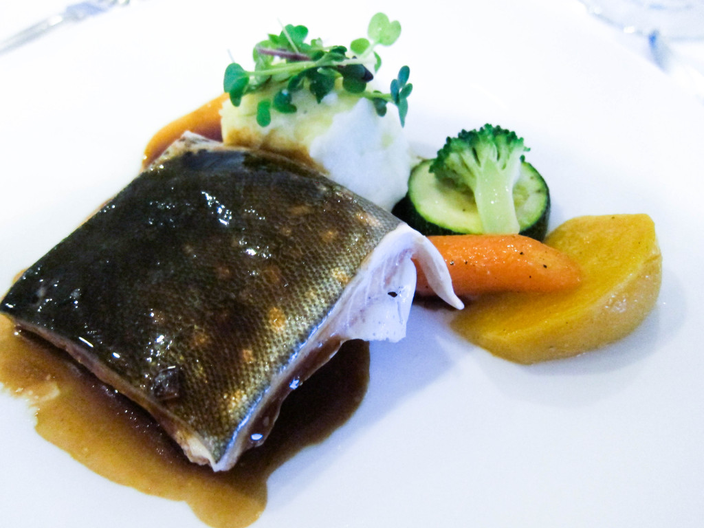 sous vide arctic char with madeira jus