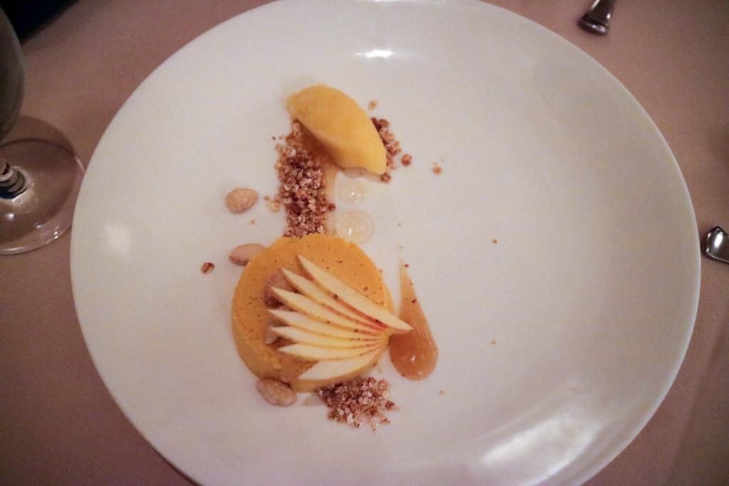 Pumpkin cheesecake from Rouge in Calgary, Canada