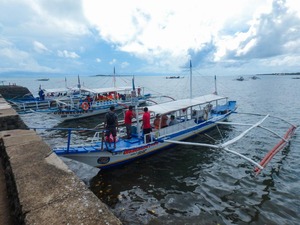 bangka filipino fishing boat