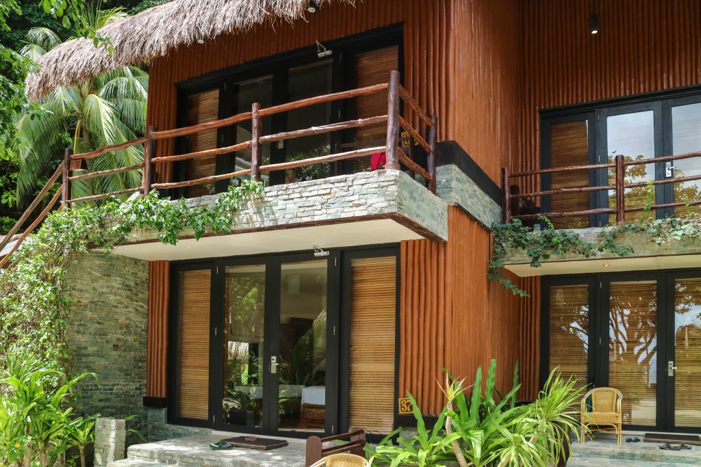 Garden cottage at Miniloc Island, El Nido, Palawan, Phlippines