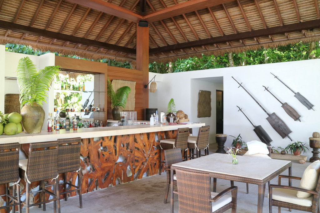 Pool bar at Pangulasian, El Nido, Palawan, Phlippines
