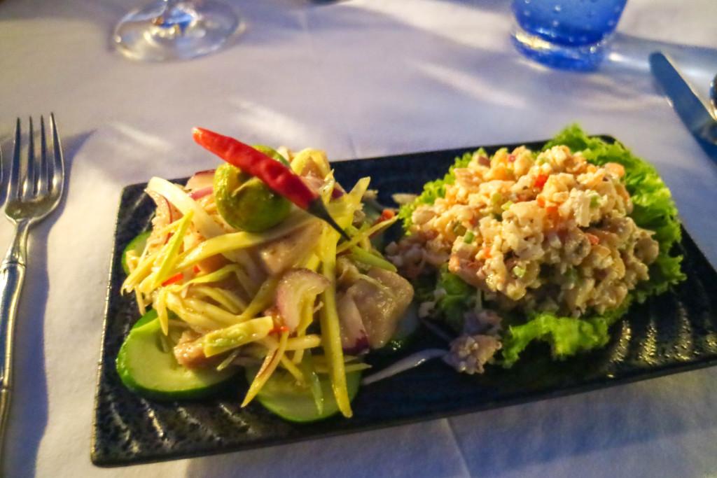 Filipino style barbecue dinner at Pangulasian, El Nido, Palawan, Phlippines