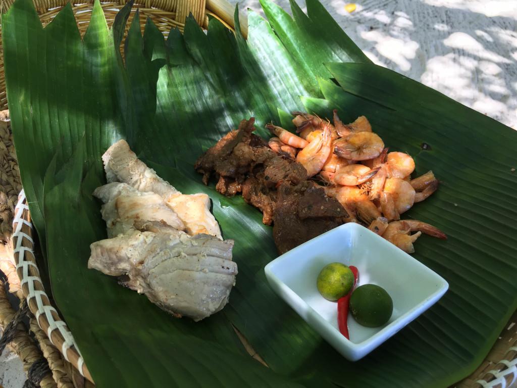 Pinic lunch at Entalula Island in El Nido, Palawan, Phlippines
