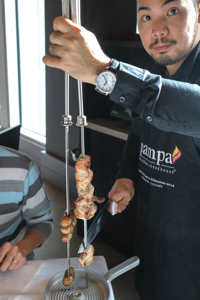 Gaucho at Pampa Brazilian Steakhouse, Calgary, Canada