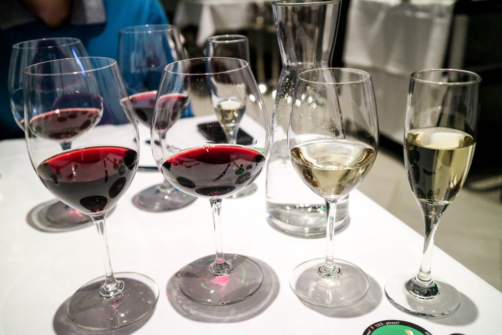 Wine pairing dinner event at Pampa Brazilian Steakhouse, Calgary, Canada