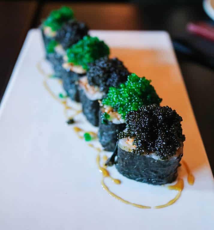 Spicy maki tempura from Shokunin, Calgary, Canada