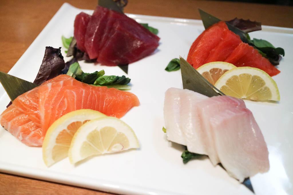 Assorted sashimi at Kabuku, Calgary, Canada