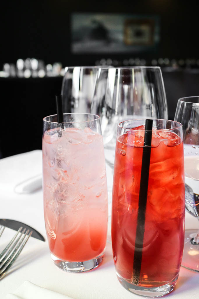 Mocktails at Chef's Table, Calgary, Canada