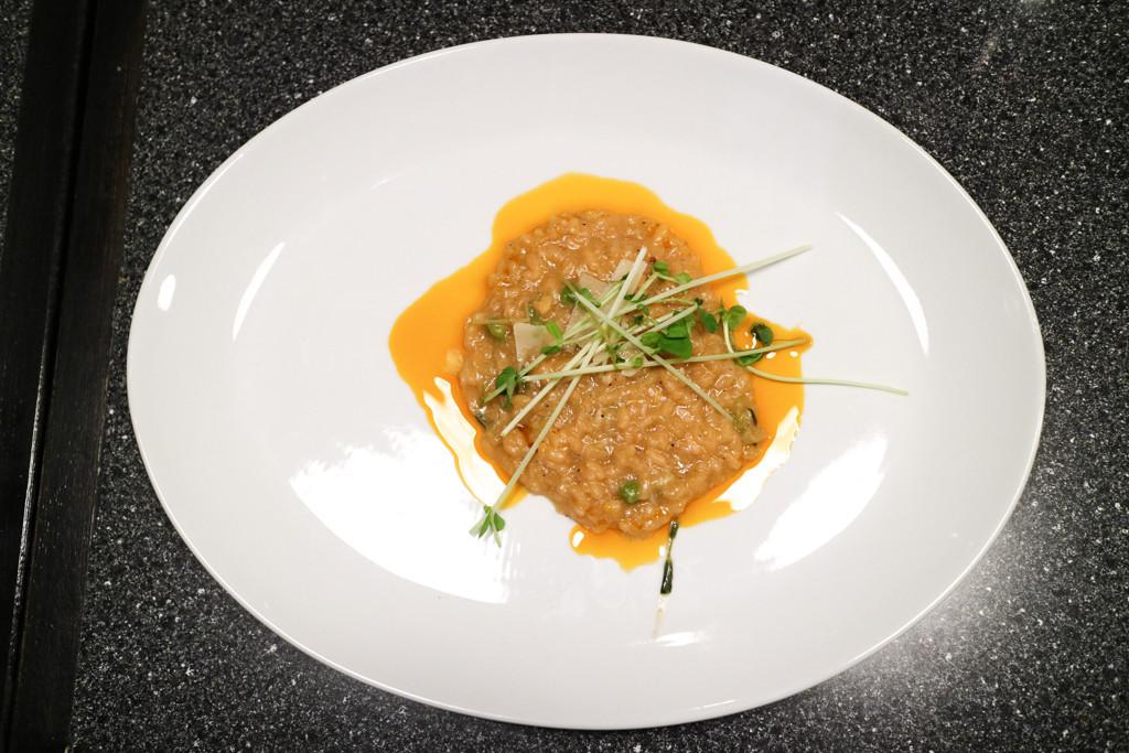 Crab fat rice from Filipino Tikim Dinner at Brokin Yolk, Calgary