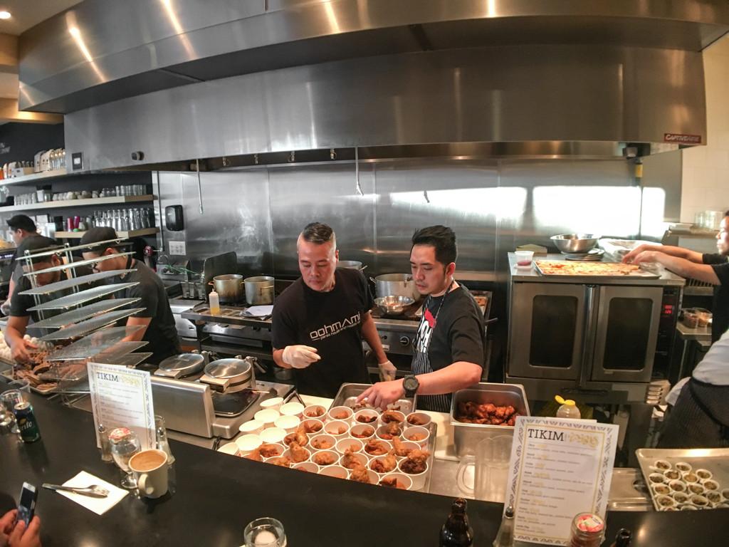 Filipino Tikim Dinner at Brokin Yolk, Calgary