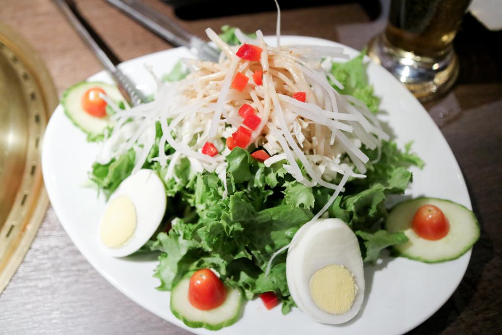 Salad from Gyu Kaku, Calgary, Canada