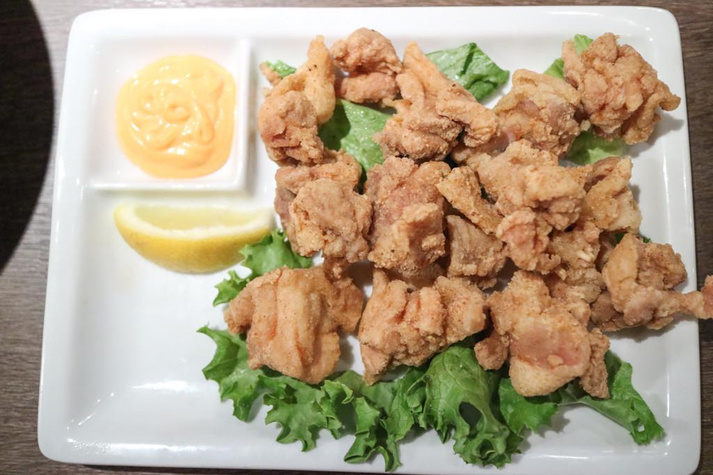 Chicken karaage from Gyu Kaku, Calgary, Canada