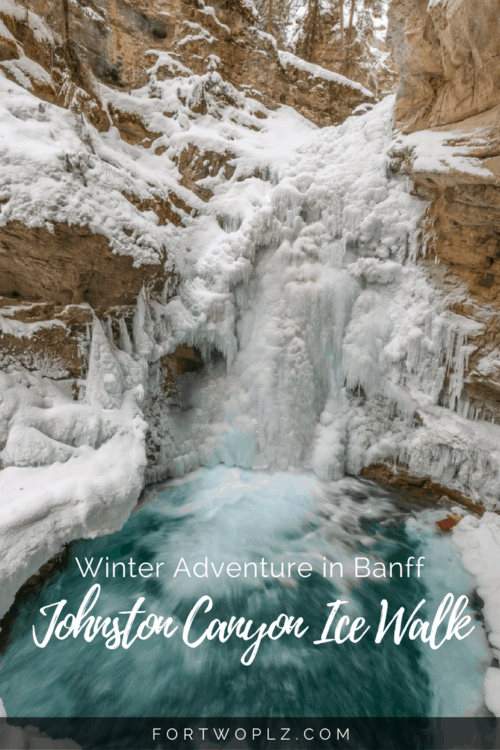 Johnston Canyon Ice Walk is the top winter activities in Banff. Here's a guide on what to expect.