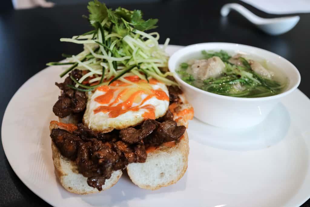 Banh mi from Pure Contemporary Vietnamese Kitchen, Calgary