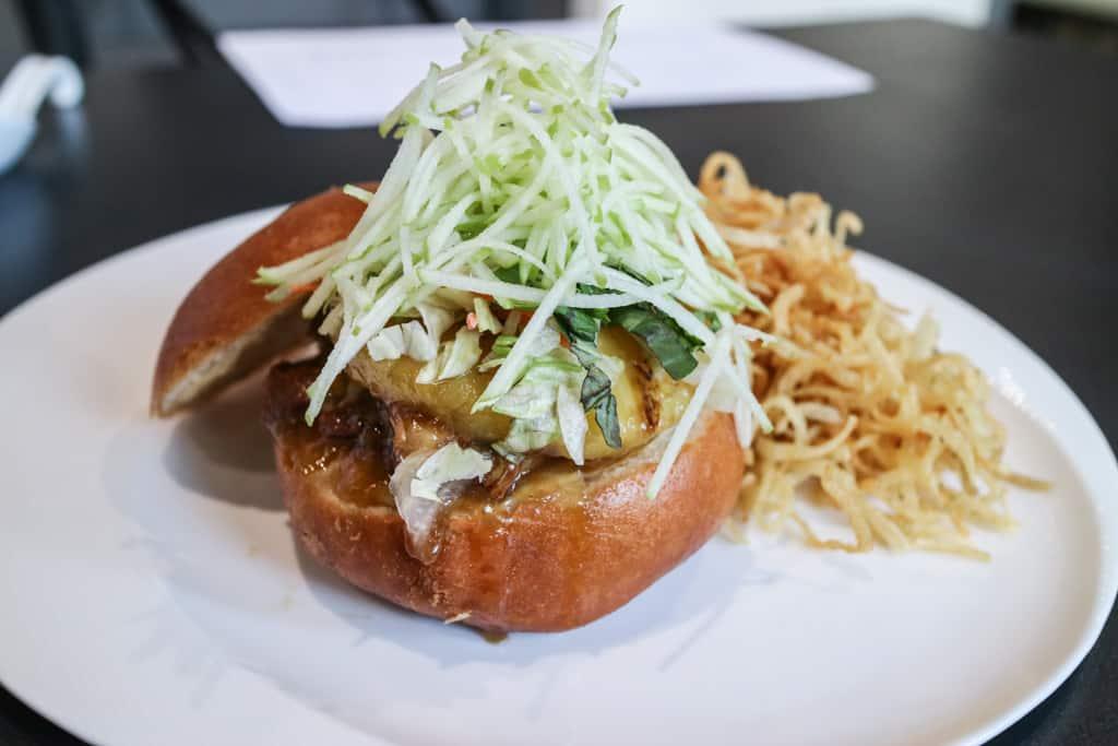 Braised pork cheef bao from Pure Contemporary Vietnamese Kitchen, Calgary