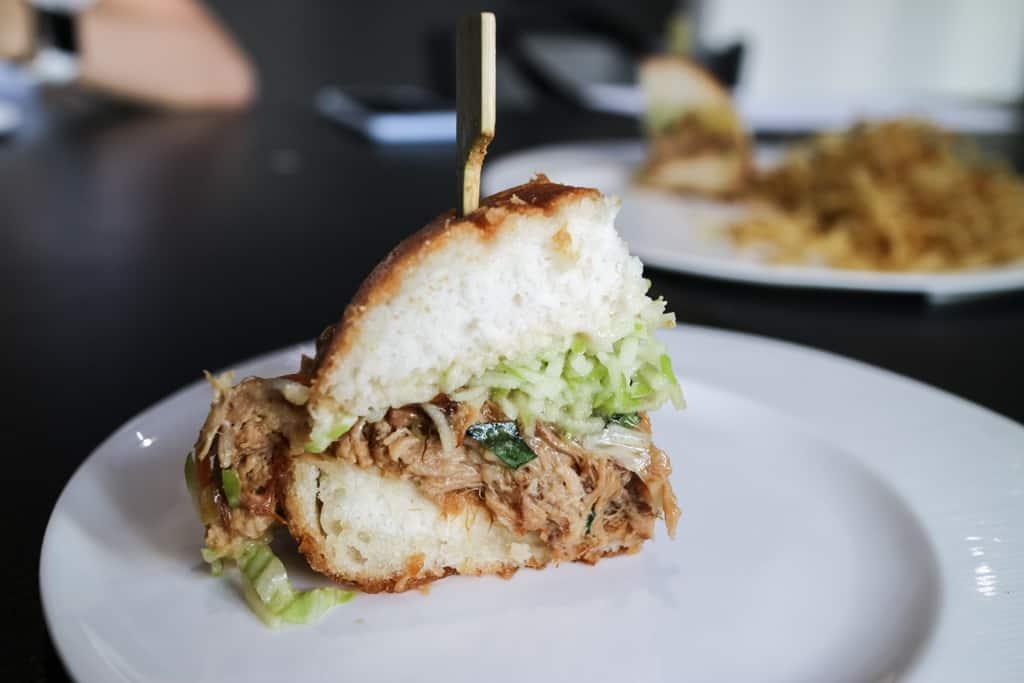 Braised pork cheek bao from Pure Vietnamese Calgary