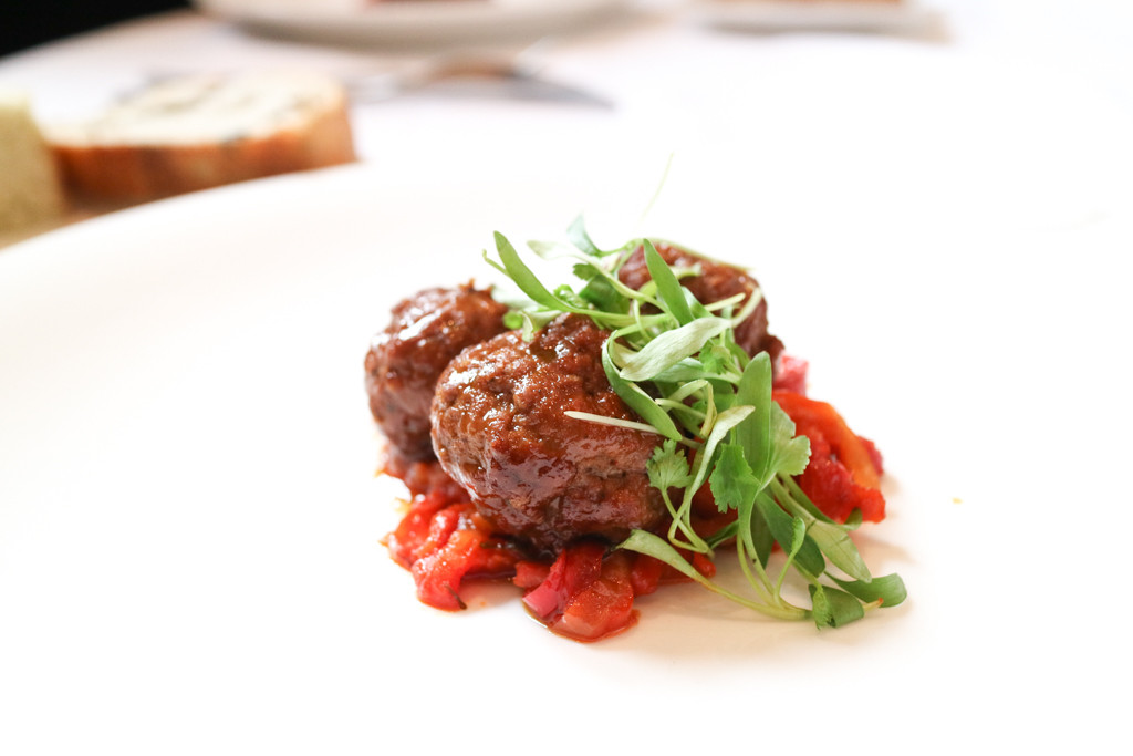 Bison polpette from Teatro, Calgary, Canada