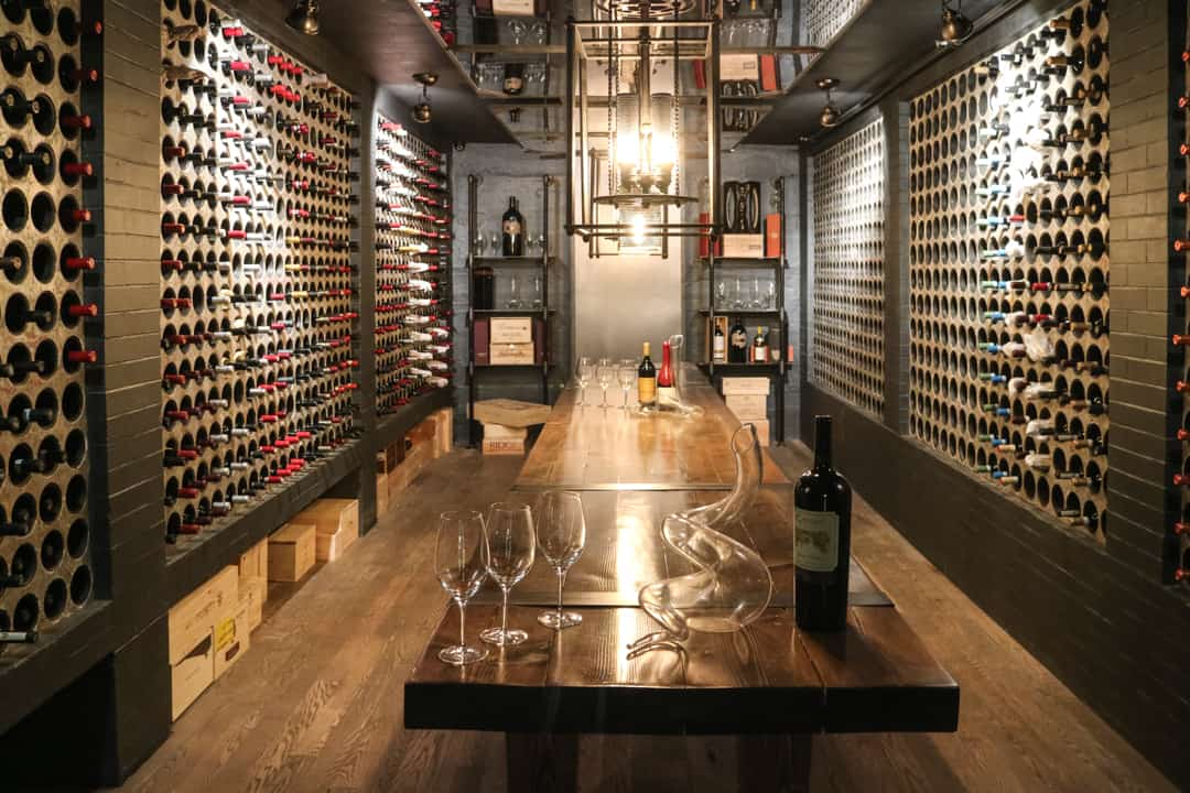 Wine cellar of Casa Loma Toronto
