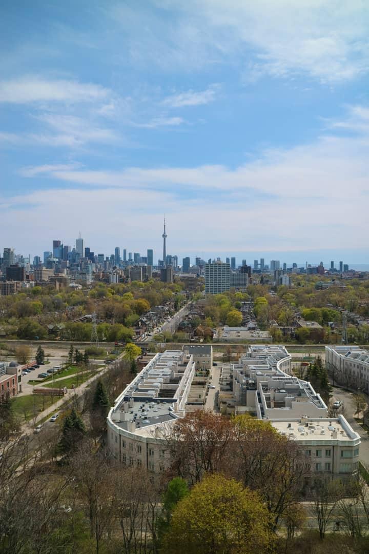 Toronto Skyline from Casa Loma Toronto