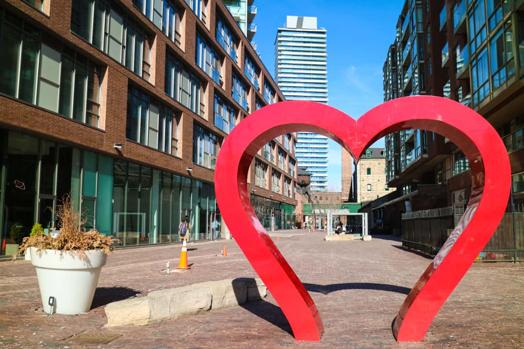Places to visit in Toronto for photographers - Distillery District