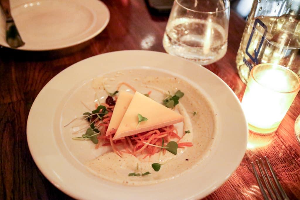 Artisanal cheese from Ruby Watchco Toronto