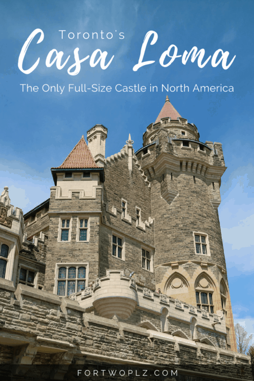 When visiting Toronto, you cannot miss out on Casa Loma, the only real full-size castle in North America!