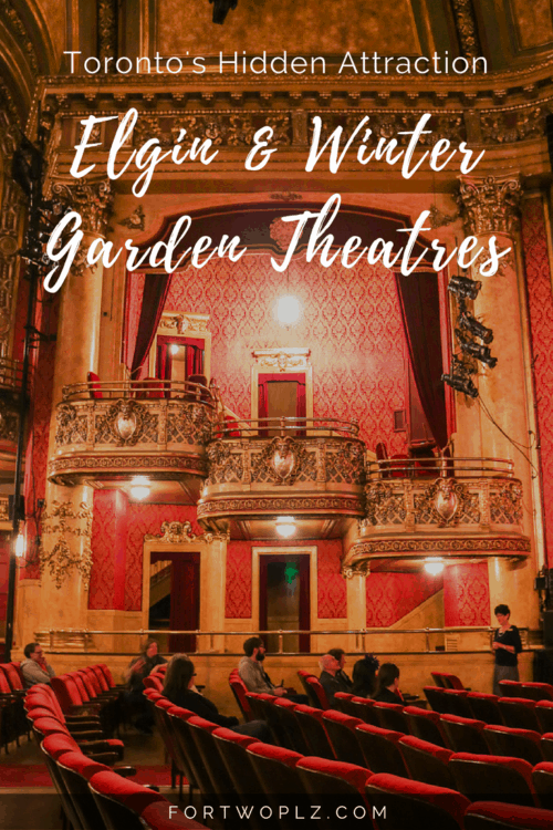 Looking for off-the-beaten path attraction in Toronto? Then you must join the guided tour at the Elgin & Winter Garden Theatres. Designated as a national historic site, the Centre is the last operating double-decker theatre in the world!