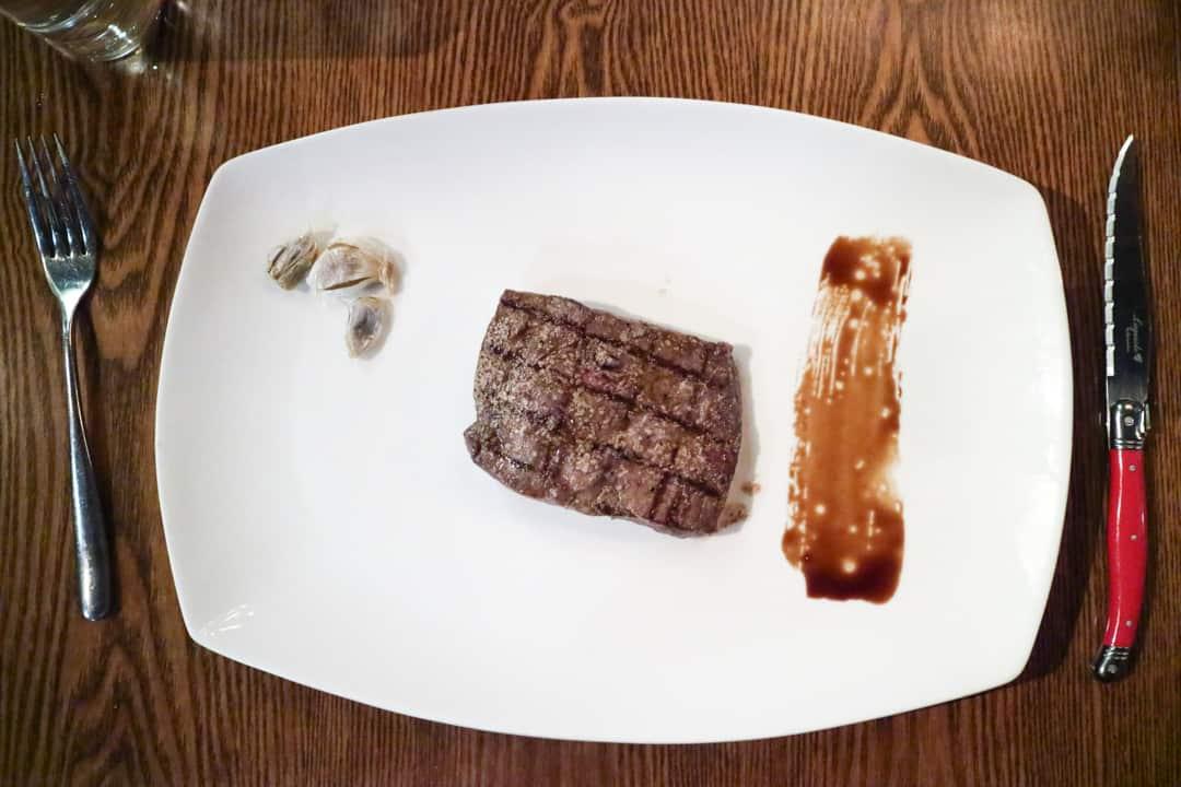 Wagyu Flat Iron from Modern Steak Calgary