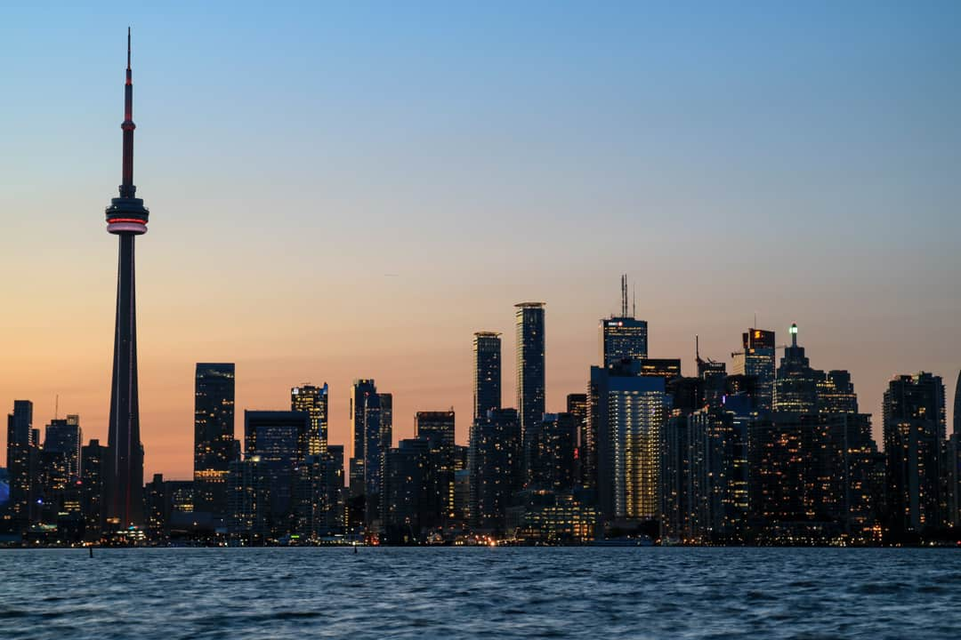 Toronto Skyline from Toronto Islands