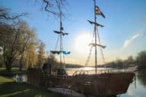 Pirate ship on Centre Island - Toronto Islands
