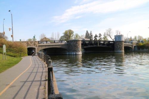 Rideau Canal in Ottawa, Ontario