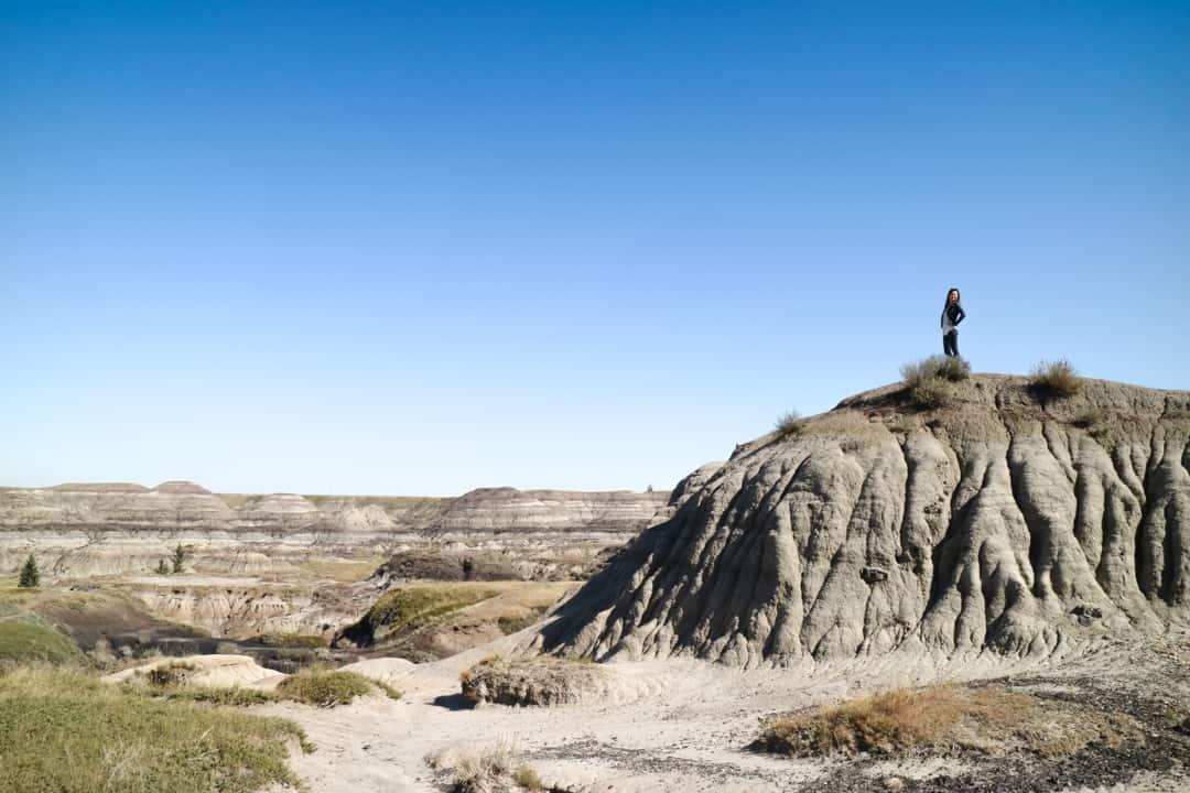 Canadian Badlands in Drumheller, Alberta, Canada