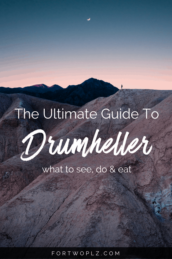 Drumheller, Canada is such a unique sight. There are tons of adventure activities, hikes, and other fun things to see and do. Click through to learn how to plan a 2 day road trip to the Canadian Badlands. #canadaroadtrip#roadtrip #alberta #badlands #drumheller#travelguide#canada #bucketlist #tripplanning #outdoors #hiking #summertravels #nationalparks